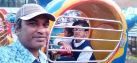 বাণিজ্য মেলায় কেনাকাটার পাশাপাশি শিশুদের জন্য বাড়তি বিনোদন